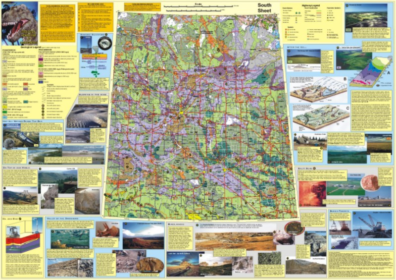 Maps geological highway map of saskatchewan gumiabroncs Gallery